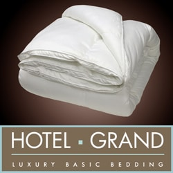 Hotel Grand Oversized Luxury 400 Thread Count Down Alternative Comforter