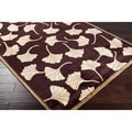 Hand-knotted Meadow Wool Rug (9' x 13')