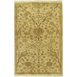 Hand-knotted Acadia Wool Rug (9' x 13')