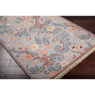 Reversible Vine Wool Rug (6' x 9')
