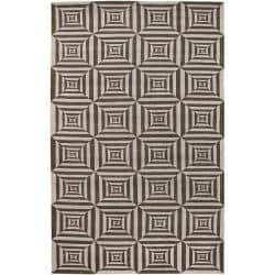 Hand-knotted Mirage Wool Rug (9' x 13')