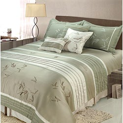 Sansai 7-piece King-size Comforter Set