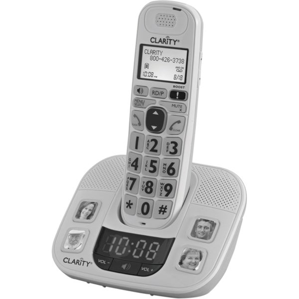 Clarity D722 DECT Cordless Phone - White