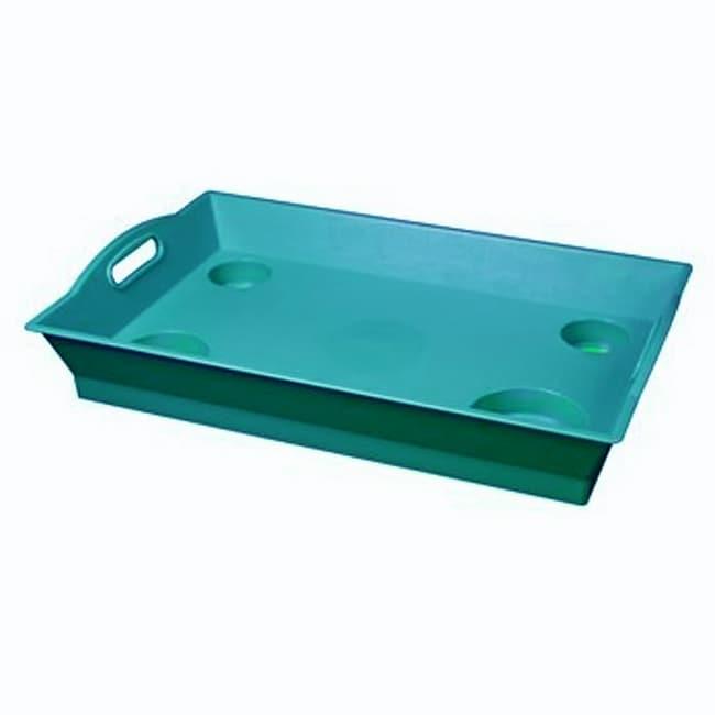 Little Butler Aqua Serving Trays (Pack of 6)