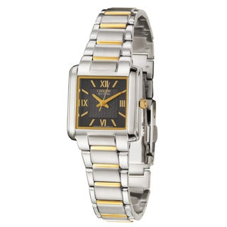 Citizen Women's 'Eco-Drive' Stainless and Yellow Goldplated Steel Quartz Watch