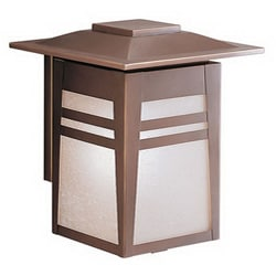 Gatewood Outdoor 2-light Large Bronze Wall Mount