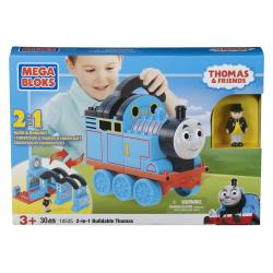 Mega Bloks 2-in-1 Buildable Thomas Toy Set