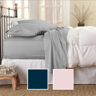 Sealy Flannel Twin/ Full-size Cotton Sheet Set