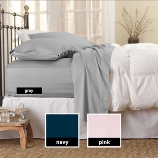 Sealy Flannel Queen/ King/ Cal-King Deep Pocket Sheet Set