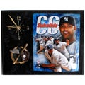 Yankees CC Sabathia Clock Plaque