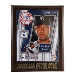 New York Yankees Derick Jeter Plaque
