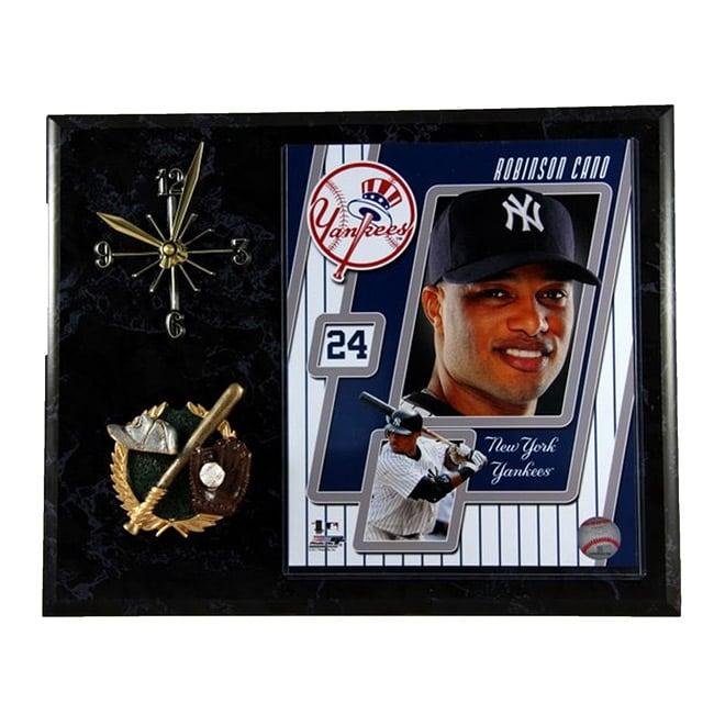 New York Yankees Robinson Cano #24 Clock