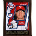 Philadelphia Phillies Roy Halladay Plaque
