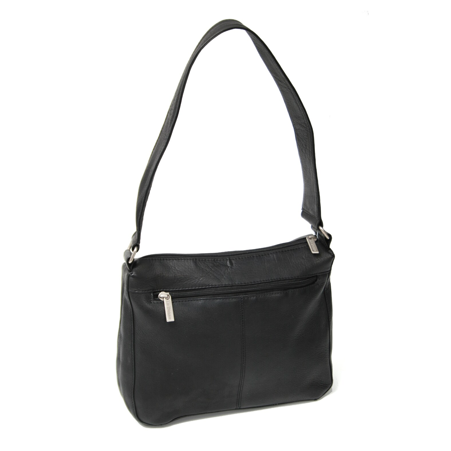 Royce Leather Women's Black Vaquetta Travel Bag