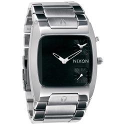 Nixon 'Banks Dual Time' Black Watch