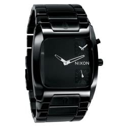 Nixon Banks Men's All Black Analog Watch