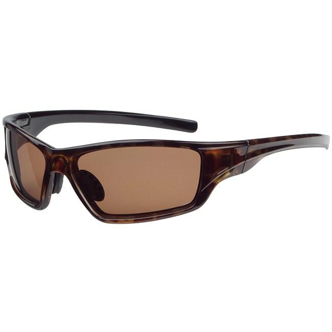 Tour de France Unisex 'Extract' Brown Sport Sunglasses
