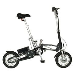 e-Mazing Innovations Black Battery Operated Bicycle