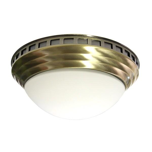 Decorative Dome Antique Brass 100 CFM Bath Fan 8095392