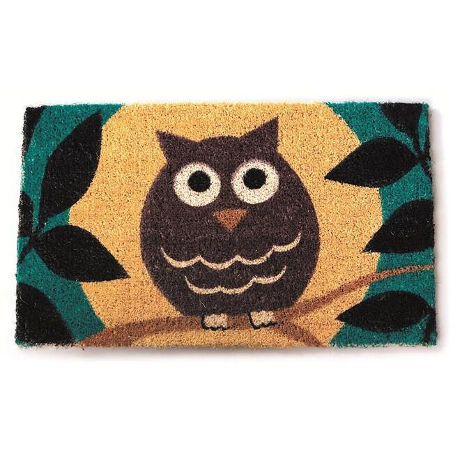 Wise Owl Non-slip Doormat