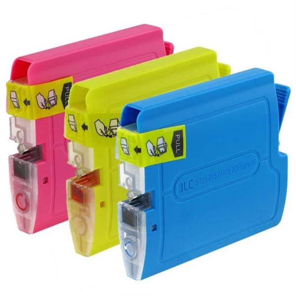 Insten Brother Compatible LC-51 Ink Cartridge Color Combo Pack