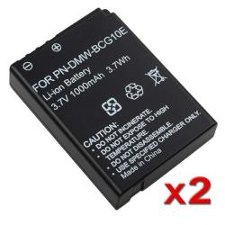 Compatible Li-ion Decoded Battery for Panasonic DMW-BCG10E (Pack of 2)