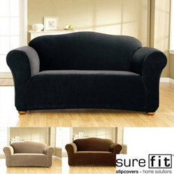 Stretch Corduroy Sofa Slipcover