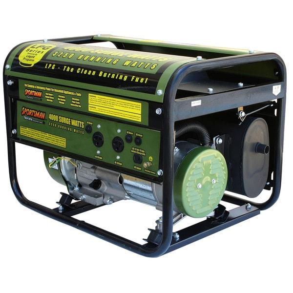 4000-watt Propane Generator