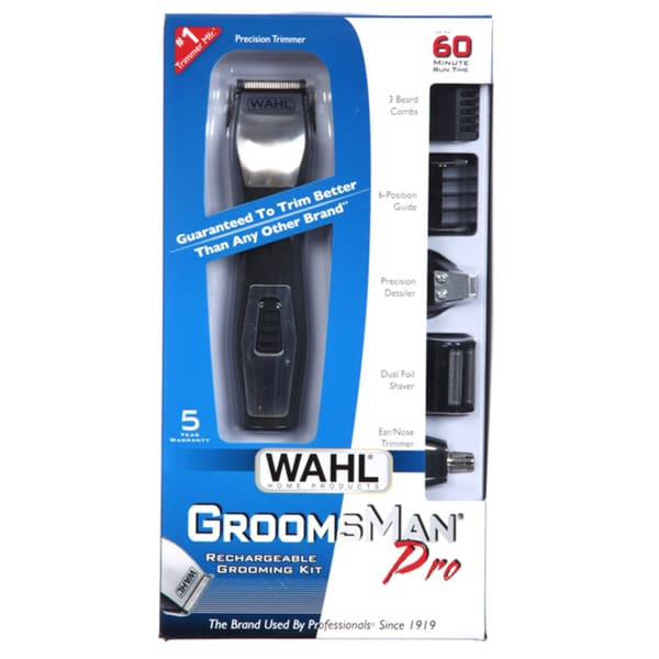 Wahl Groomsman Pro All-in-One Grooming Kit