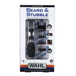 wahl groomsman beard stubble rechargeable trimmer overstock shopping top rated wahl trimmers. Black Bedroom Furniture Sets. Home Design Ideas