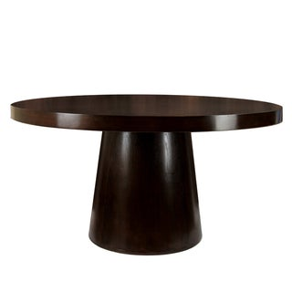 Furniture of America Amari Espresso Round Dining Table