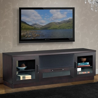 Contemporary 70-in Wenge TV and Entertainment Console