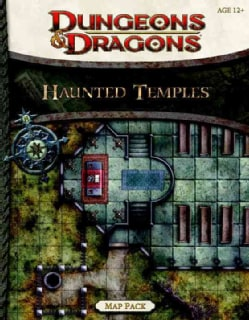 Dungeons & Dragons Haunted Temples Map Pack (Novelty book)