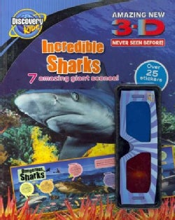 3-D Incredible Sharks (Paperback)