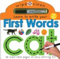 Wipe Clean First Words (Novelty book)