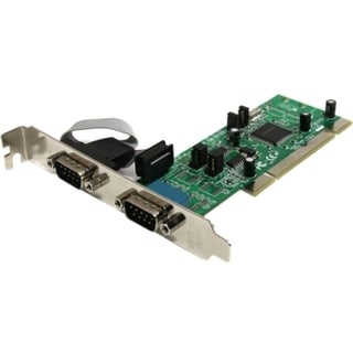 StarTech.com 2 Port PCI RS422/485 Serial Adapter Card with 161050 UAR