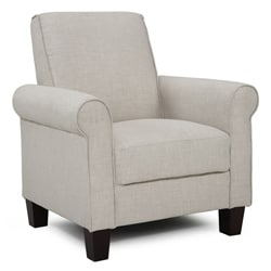 Rollx Linen Accent Chair