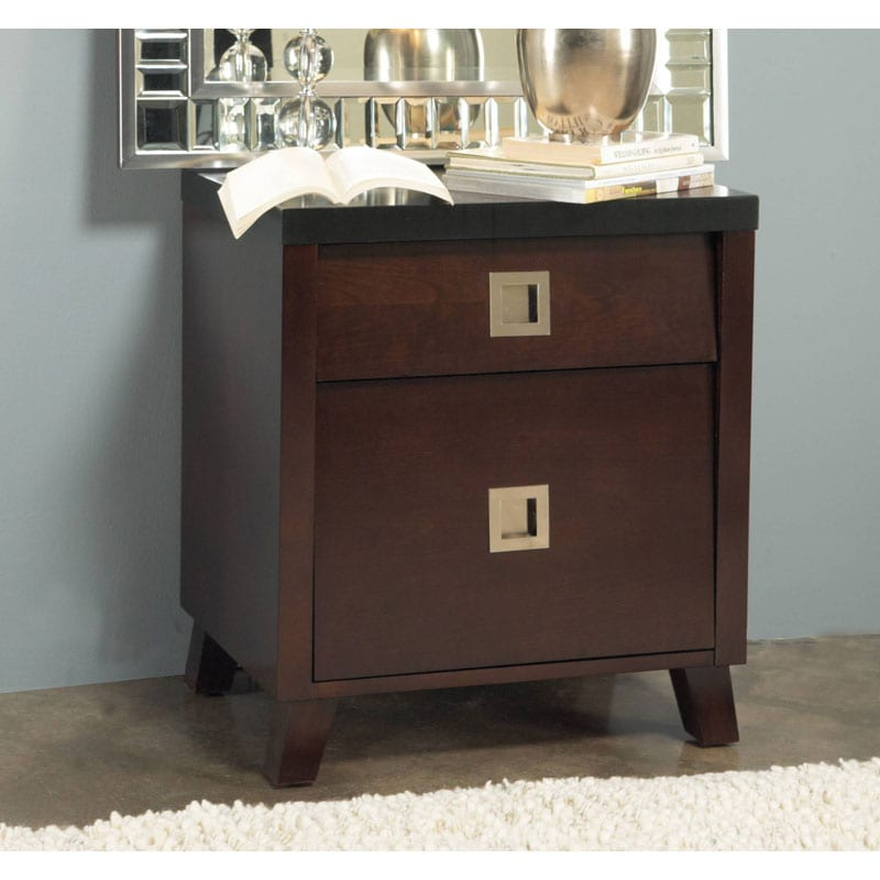 angelo:HOME Marlowe 2-drawer Nightstand
