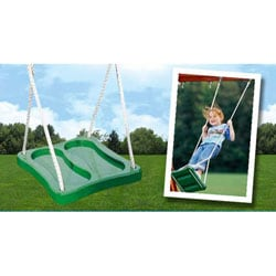 KidWise Green Stand 'N Swing with Rope