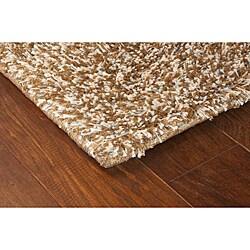 Manhattan Tweed Brown/ Ivory Shag Rug (2'3 x 7'9)