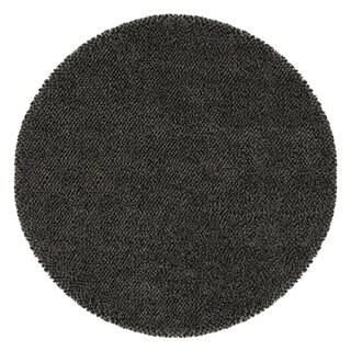 Manhattan Tweed Blue/ Brown Shag Rug (8' Round)