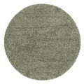 Manhattan Tweed Blue/ Ivory Shag Rug (8' Round)