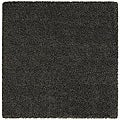 Manhattan Tweed Blue/ Brown Shag Rug (8' Square)