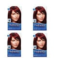 Clairol Hydrience #32 Hibiscus, Dark Red Hair Color (Pack of 4)