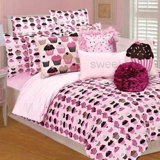 Microplush Cupcakes 3-piece Comforter Set