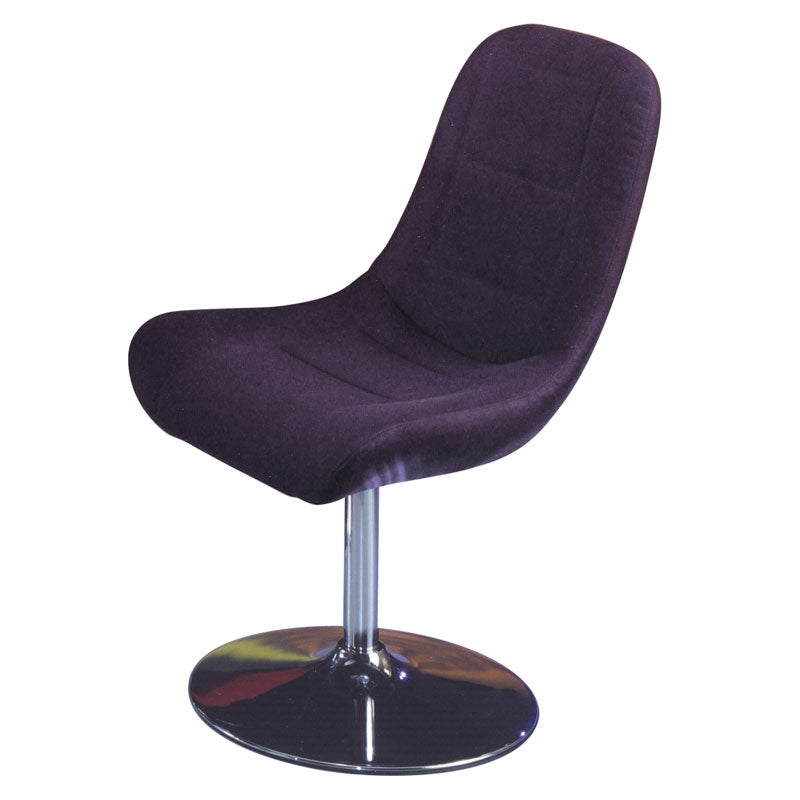 Melrose Airbrush Black Dining Chair