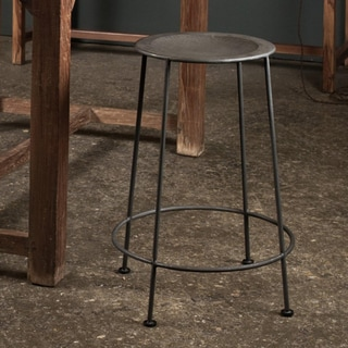 Iron Zinc-finish Counter Stool (India)