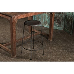 Iron Zinc-finish Bar Stool (India)