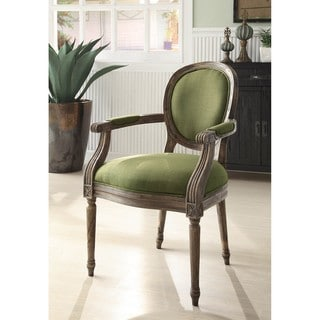 Oxford Oregano Linen Arm Chair