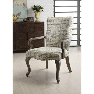 Gooseneck Trilogy Ivory Chair
